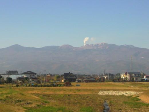 11月19日の吾妻山